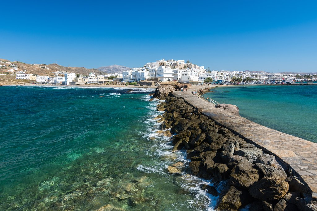 Relax on Naxos in the Cyclades