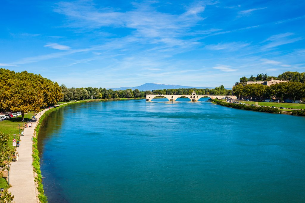 Avignon's Pont Saint-Bénézet in the Southern Rhône valley, gateway to Provence