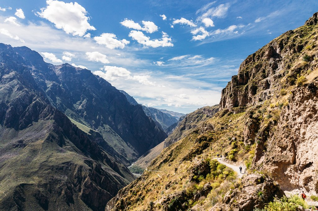 Trek along Colca Canyon