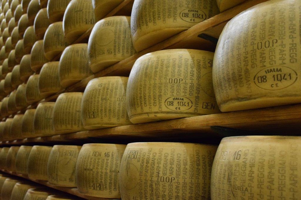 Parmigiano Reggiano, Parma