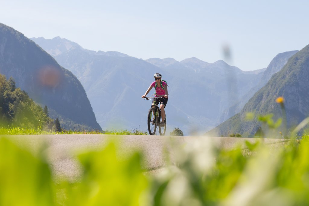 Cycling in Triglav National Park, Slovenia