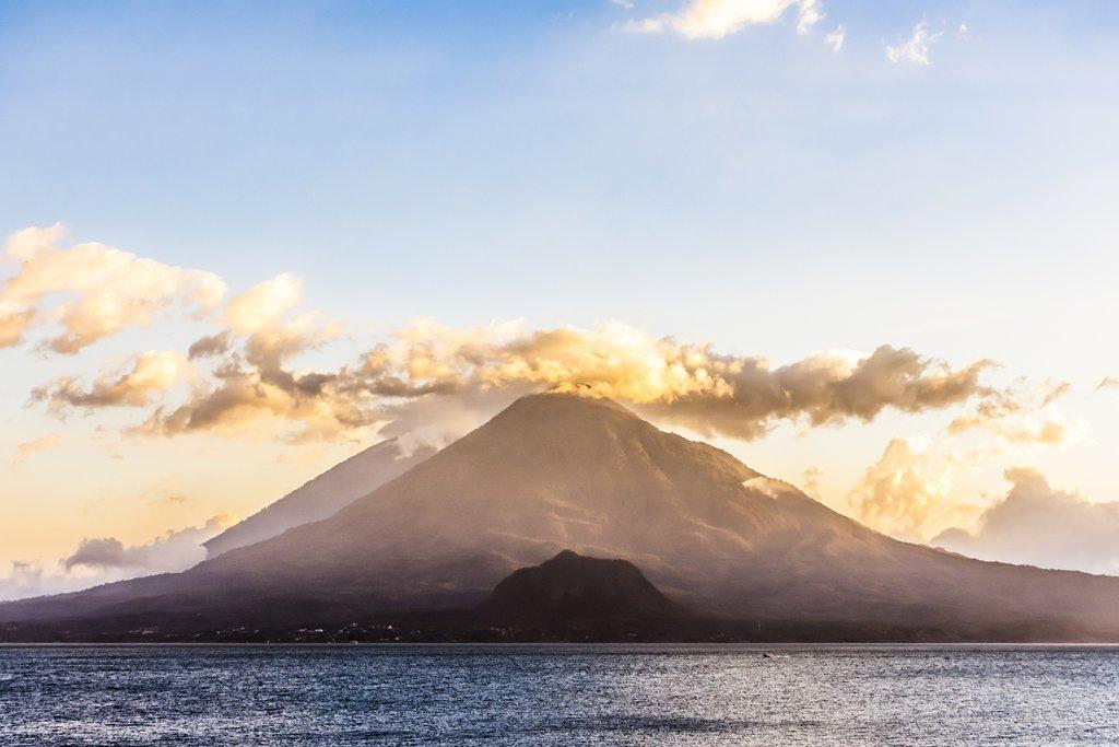 Volcanoes Surrounding Lake Atitlán