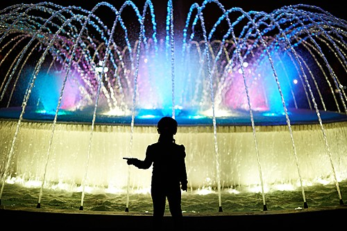 The Circuito Mágico del Agua (Magical Circuit of Water) is one of Lima's most kid-friendly attractions