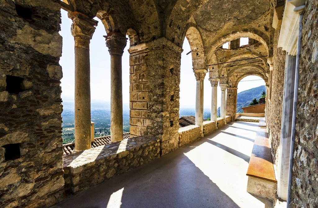 Monastery of Panayia Pantanassa at Mystras