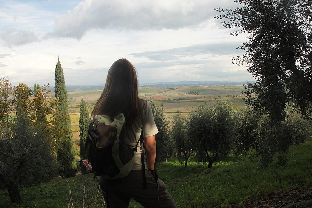 Francigena Way, Tuscany, Italy