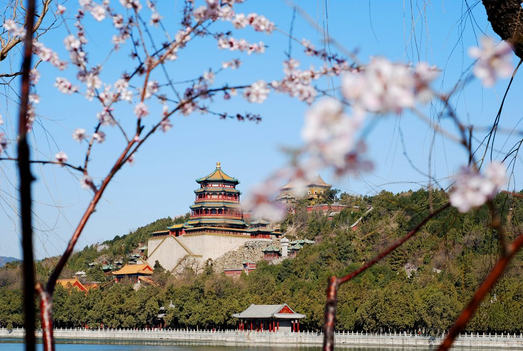 Three-quarters of the Summer Palace is water