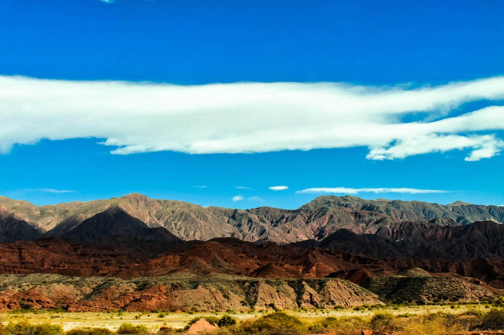 The Salta Desert in Argentina