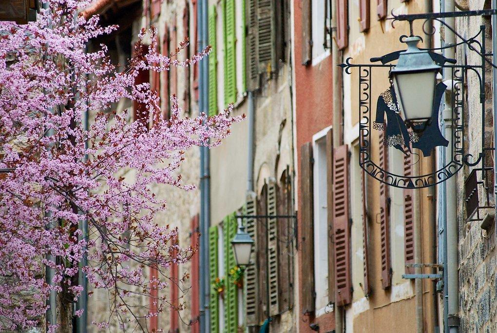 Spring in Villefranche-de-Conflent