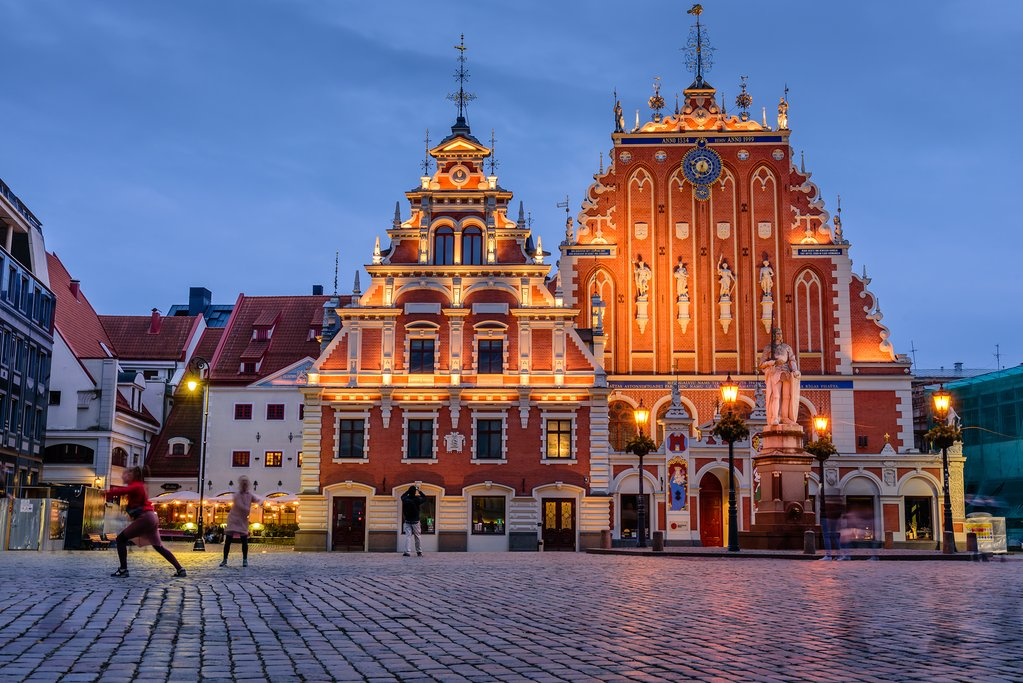 House of the Blackheads in Riga Old Town