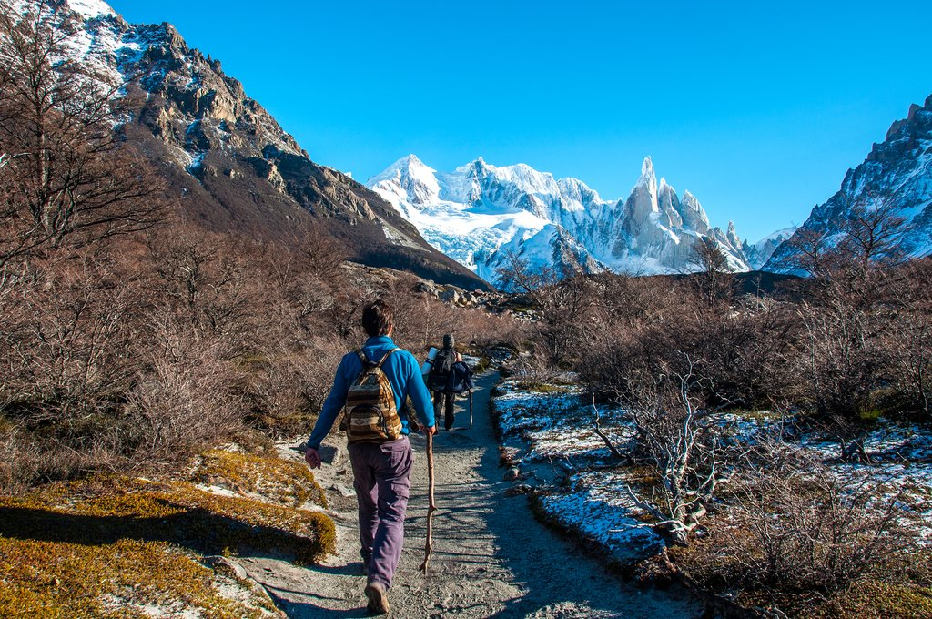 Hike to Mirador Cerro Torre while staying in El Chaltén
