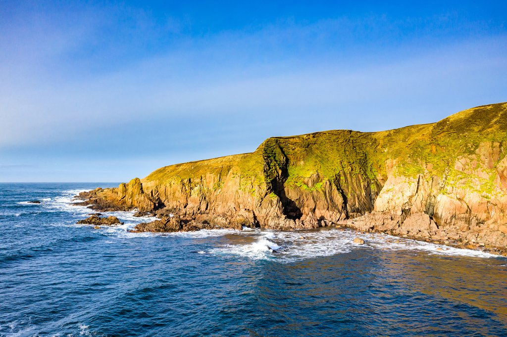 Dramatic coastal landscapes at Bloody Foreland, Donegal