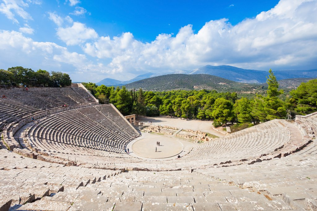 The ancient theater of Epidaurus