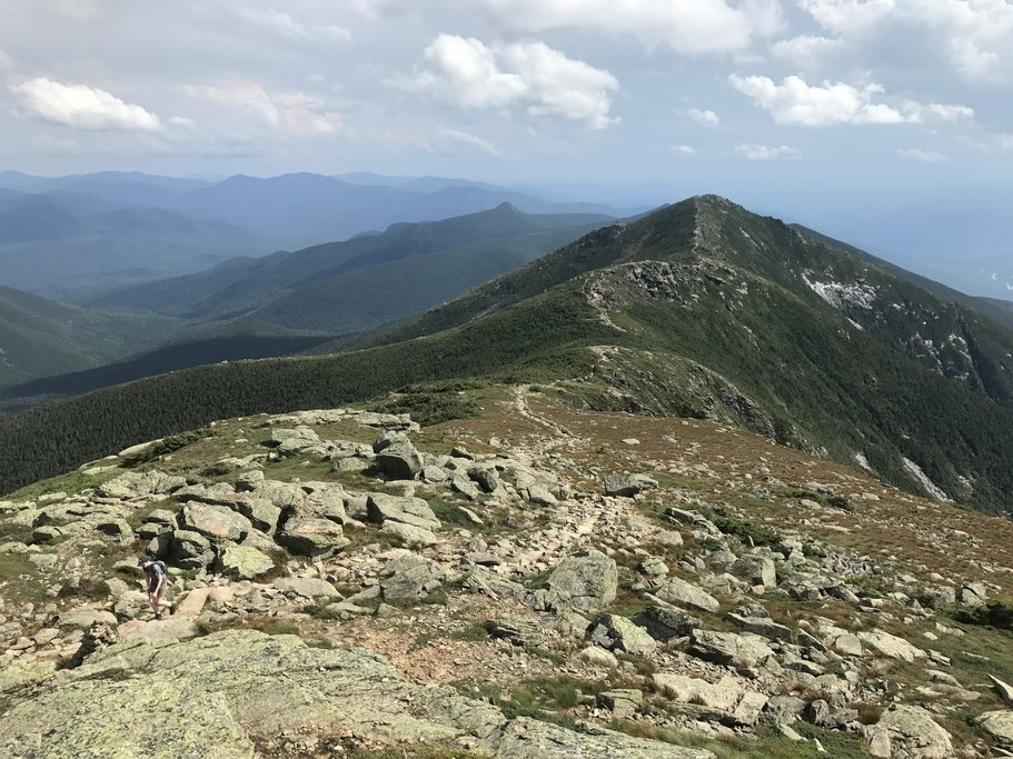 Hike along Franconia Ridge in the White Mountains