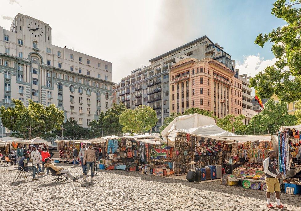 Greenmarket Square in Cape Town