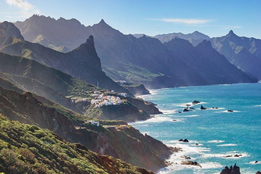 Tenerife's mountainous coast near Anaga.