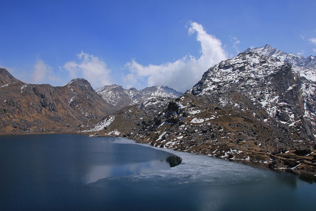 Gosainkunda Lake at 4300m