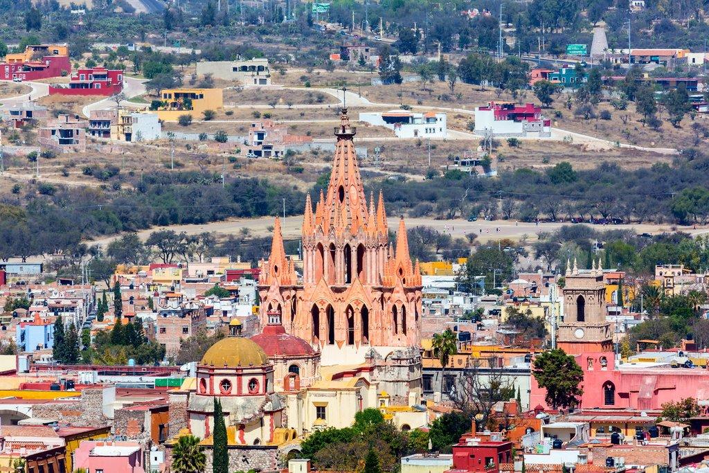 San Miguel de Allende, Mexico Highlands