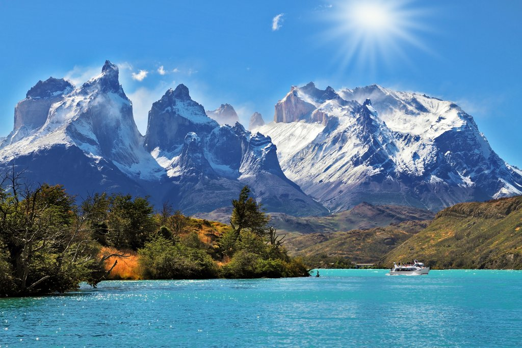 Lake Pehoe, Torres del Paine National Park