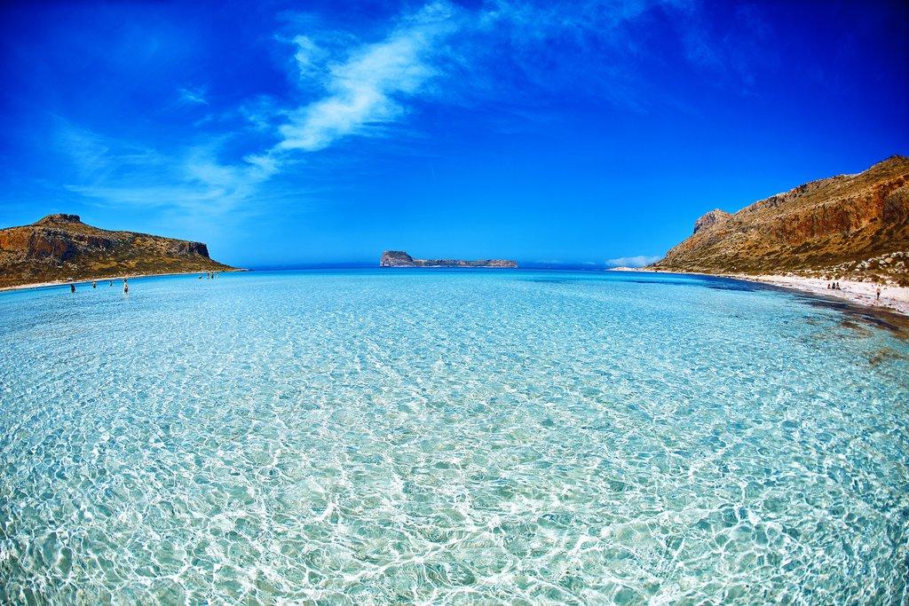 Crete's Balos Lagoon