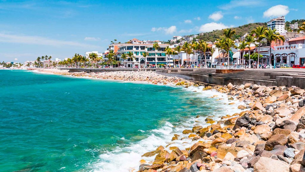A beautiful beach on the Pacific coast of Mexico