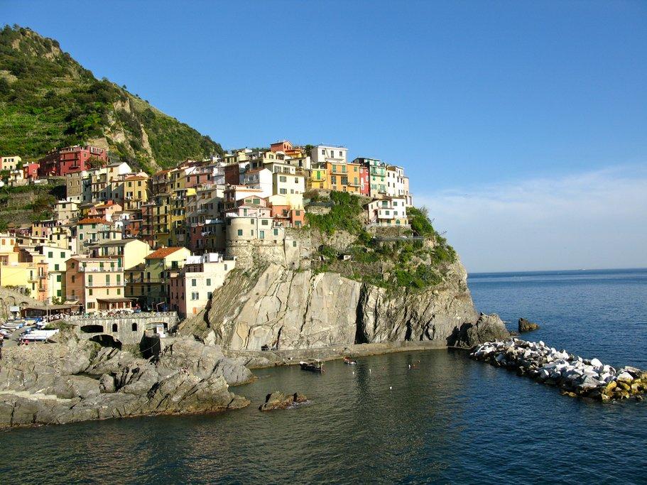 Coastal town of Rio Maggiore