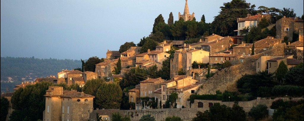 Bonnieux, a village in the Luberon