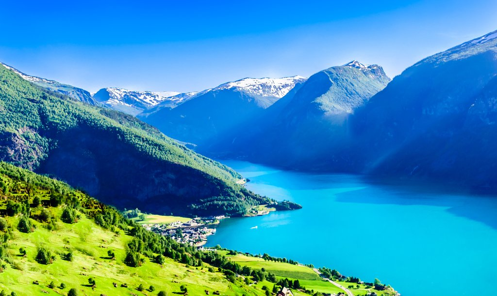 Norway's longest and deepest fjord