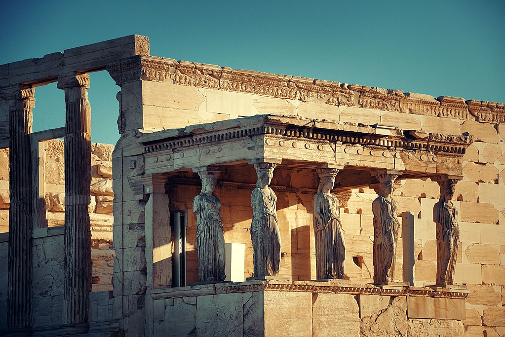 The Erechtheion Temple at the Acropolis, Athens