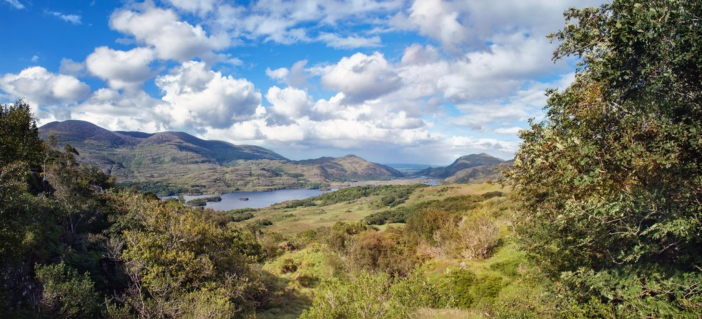Panoramic view of Killarney National Park