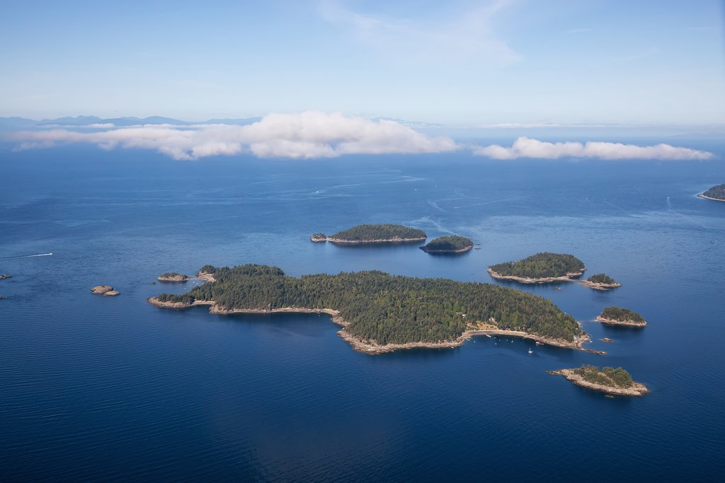 Pasley Island near Vancouver