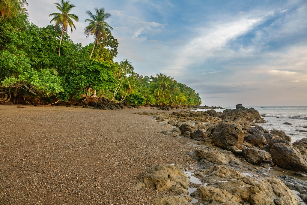 Wild beach in Costa Rica's Osa Peninsula