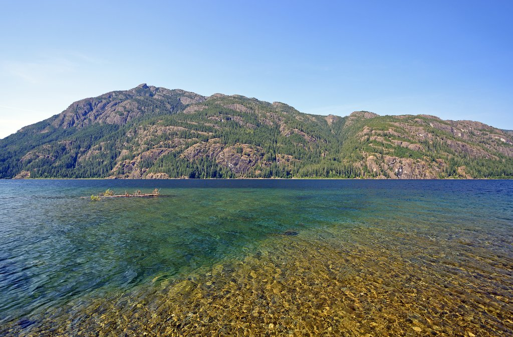 Buttle Lake, Strathcona Provincial Park