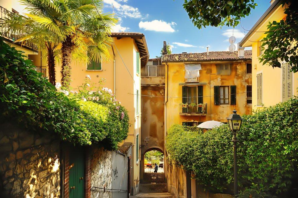 Old Buildings in Trastevere, Rome