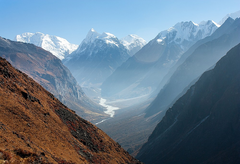 Nepal's Langtang Valley, near the border of Tibet