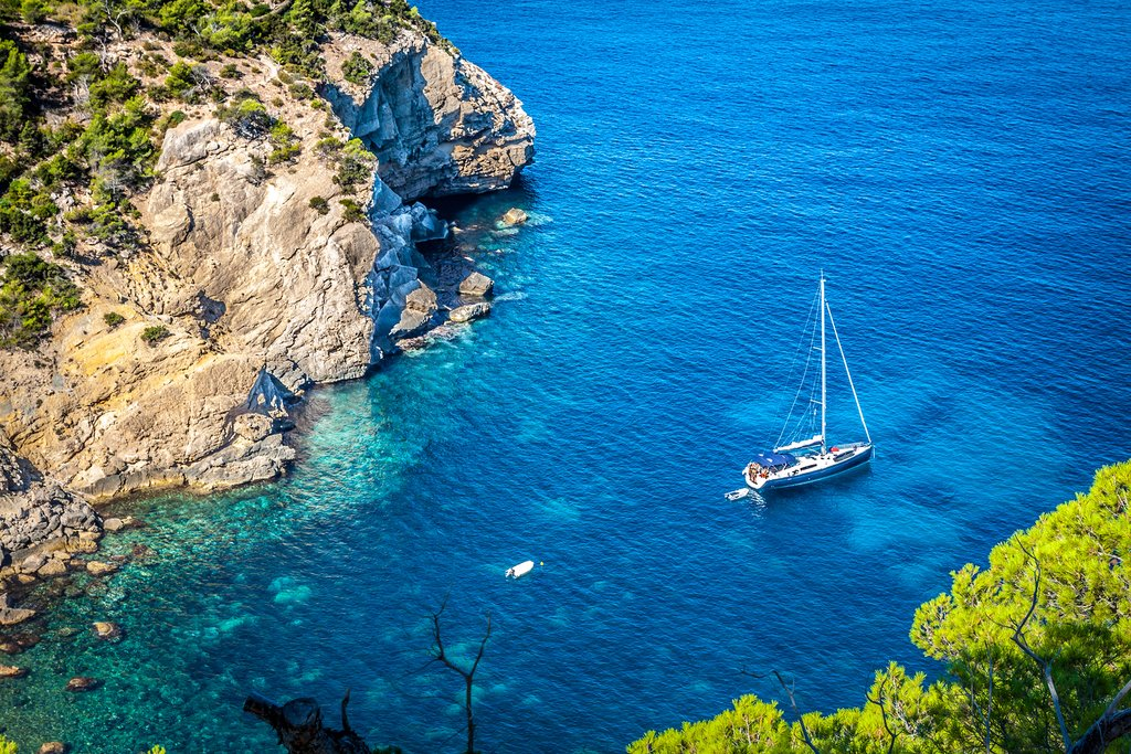 Set sail in Ibiza's turquoise waters