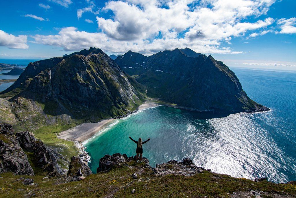 The breathtaking scenery of Norway's Lofoten Islands