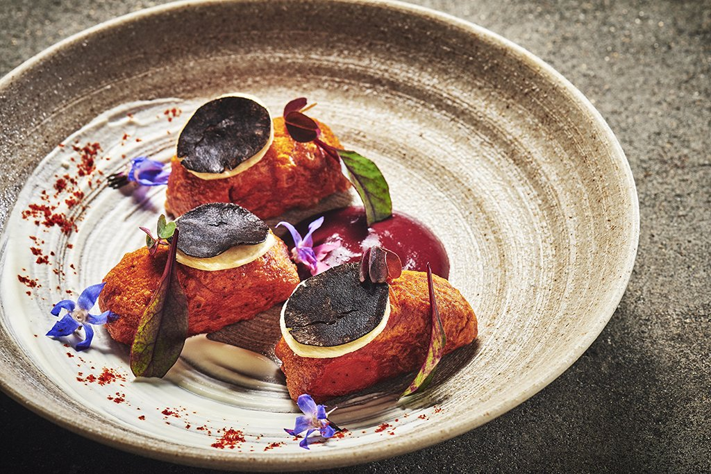 Artful dishes can be sampled at Carmen.