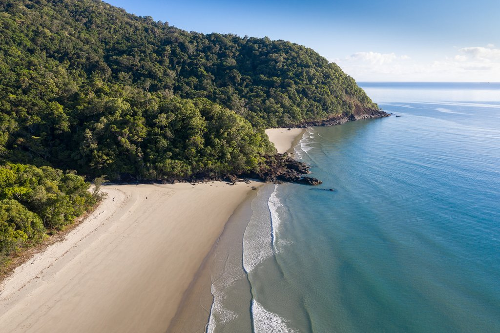 Noah Beach where the Daintree Rainforest meets the ocean