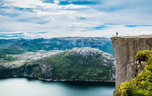 Prekestolen Rock, Lysefjord