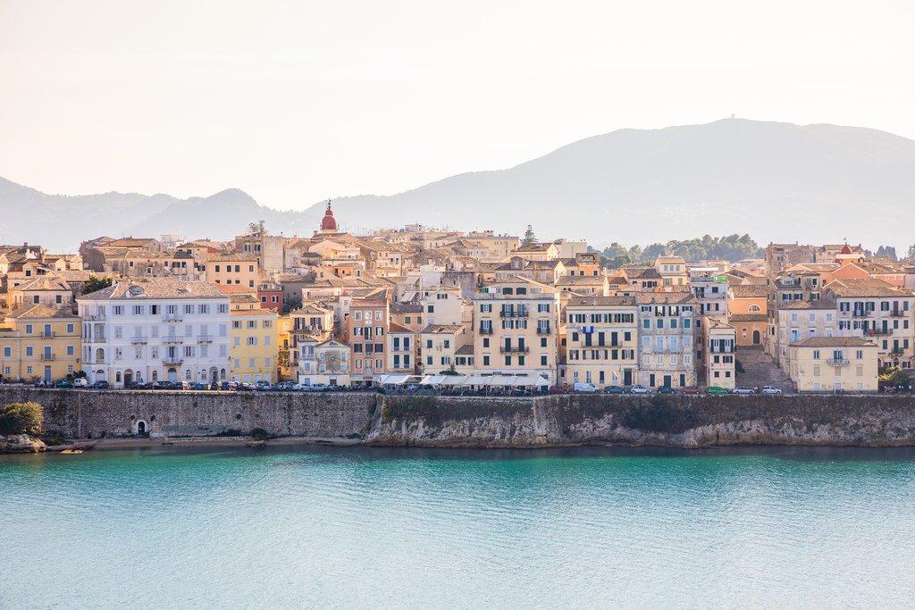 Historical Corfu town