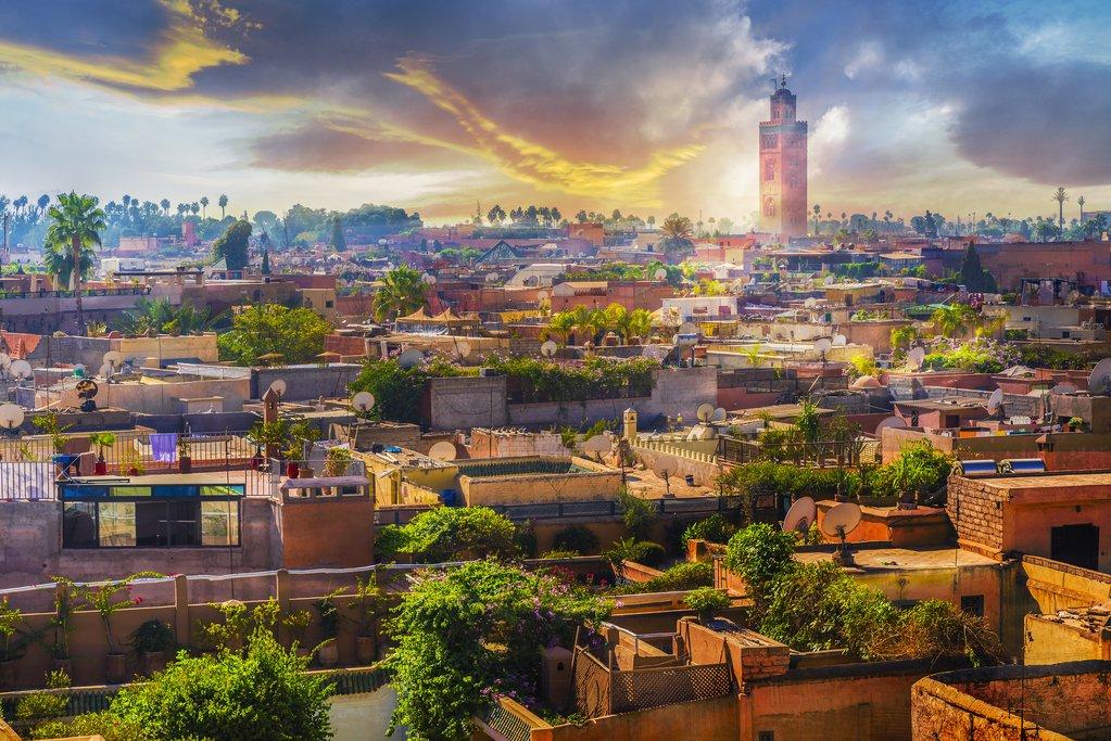 Marrakech old medina