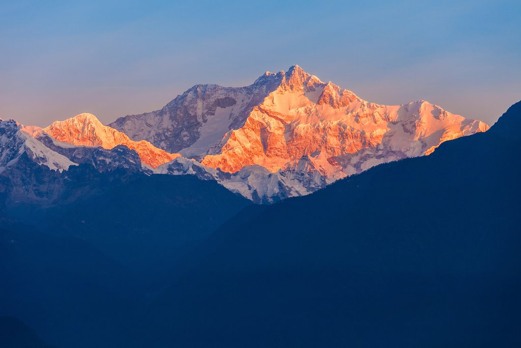 Kanchenjunga from India