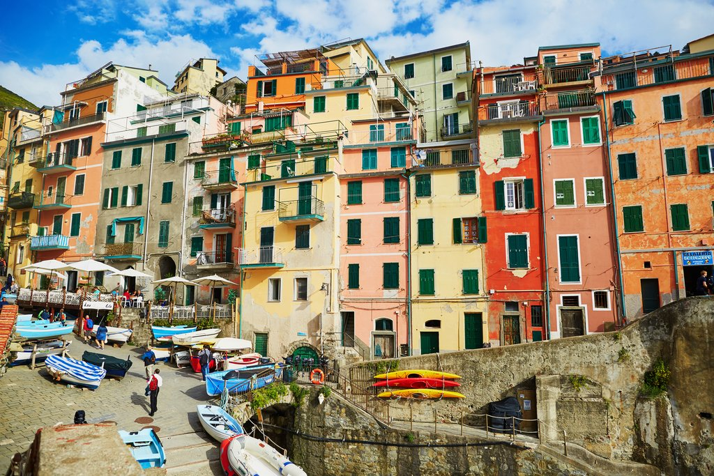 The Colorful Building of Cinque Terre