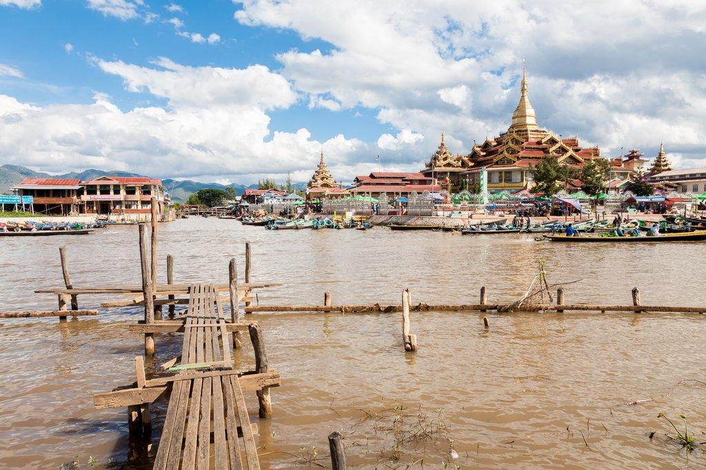 The Phaung Daw Oo Pagoda
