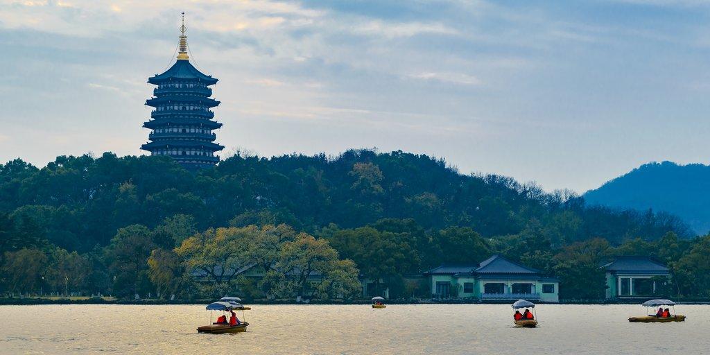 Lake Hangzhou, China