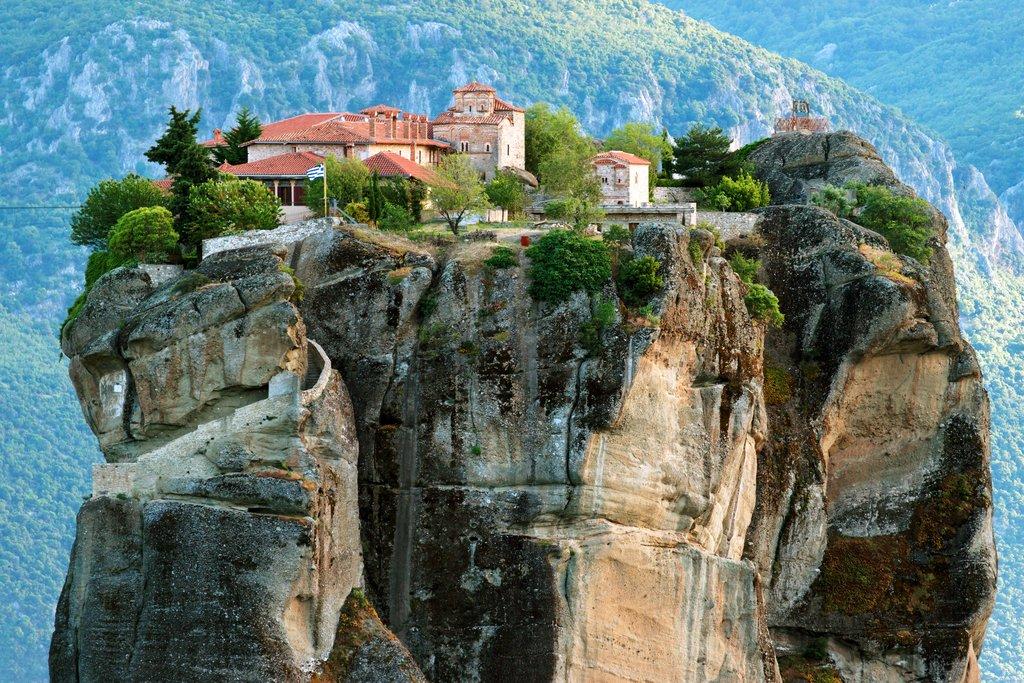 Meteora's clifftop monasteries