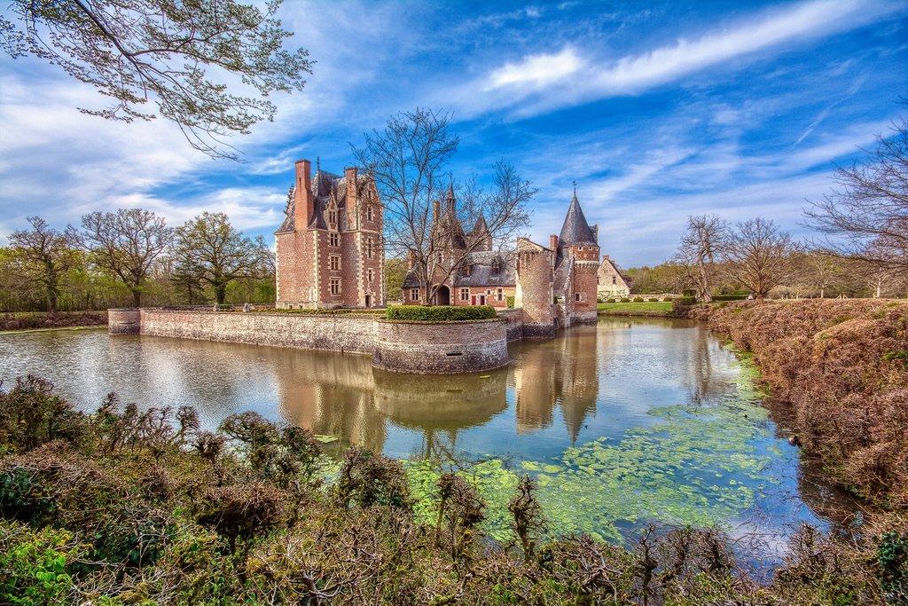 Chateau du Moulin in Lassay-sur-Croisne