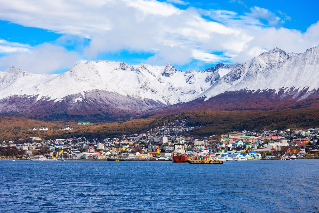 Enjoy the views of Ushuaia from the water