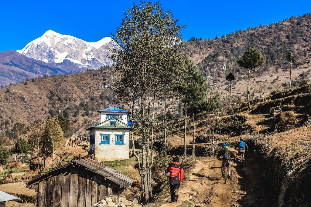 Mountain Biking in the Everest Region