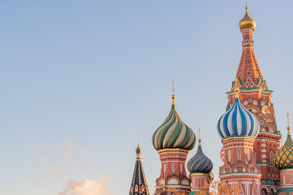 Magnificent Domes of St. Basil's Cathedral